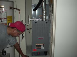 New Furnace with Air Cleaner in Cedar Hill, TX